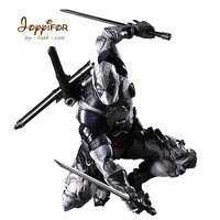 Joyyifor 27cm Marvel Super Heroes Black Deadpool Weapon DIY Toy PVC Action Figure Collection Model Toy for Kids Birthday Gift