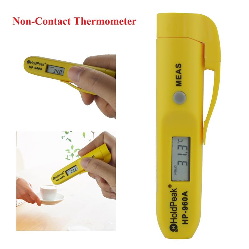 HoldPeak HP-960C -30-275'C Infrared Digital Thermometer Pen