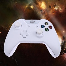 2017 Blanco Controlador Para XboxOne Controlador Inalámbrico Para Microsoft Xbox Una Consola Gamepad Joystick PC Regalo Para Los Amigos/Familia