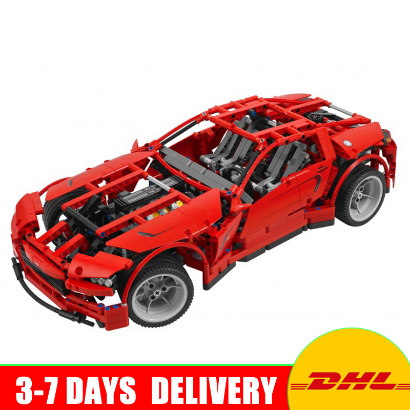 LEPIN 20028 Technic Series Super Car Assembly Toy Car Model DIY Brick Building Block Toy Gift for Boy New Year Gift Clone 8070 in stock lepin 20028 1281pcs technic series super car assembly toy car model diy brick building block toy gift for boy gift 8070