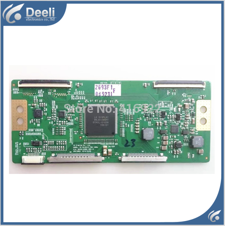 original for V6 37 FHD 120HZ 6870C-0365A 6870C-0365B logic board kodi гель лак 173 8 мл