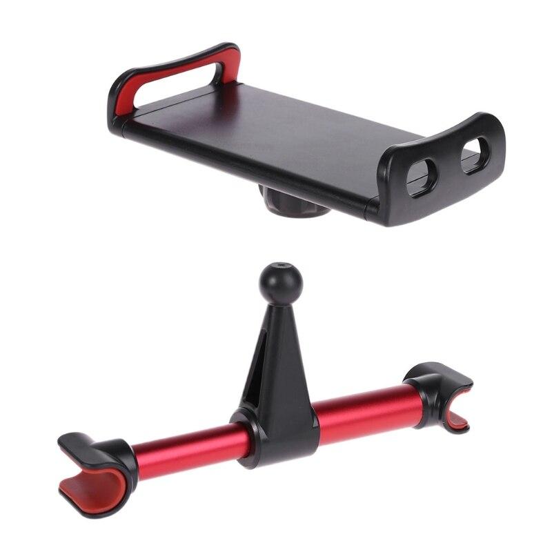 Auto Rücksitz Kopfstütze Tablet Halterung Ständer Halter Aluminium Legierung Universal Halterung Taille Und Sehnen StäRken