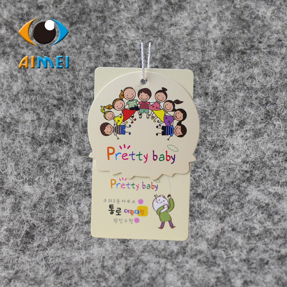 500pcs/lot/custom printed coat hangtag/garment hang tag/free shipping(best price)-in Garment Tags from Home & Garden    1