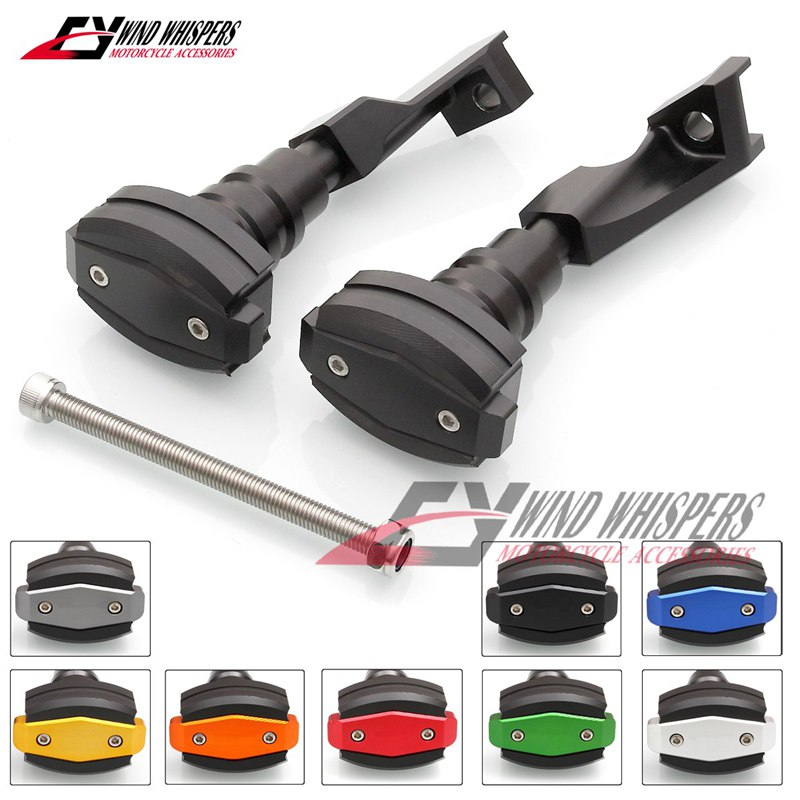 Universal diametre from 100 to 150 mm Motorcycle Exhaust Frame Sliders Protector