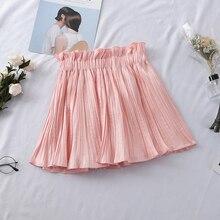 Skirt Flower-Bud-Skirt Stitching High-Waist Mini Women Heliar Casual Spring