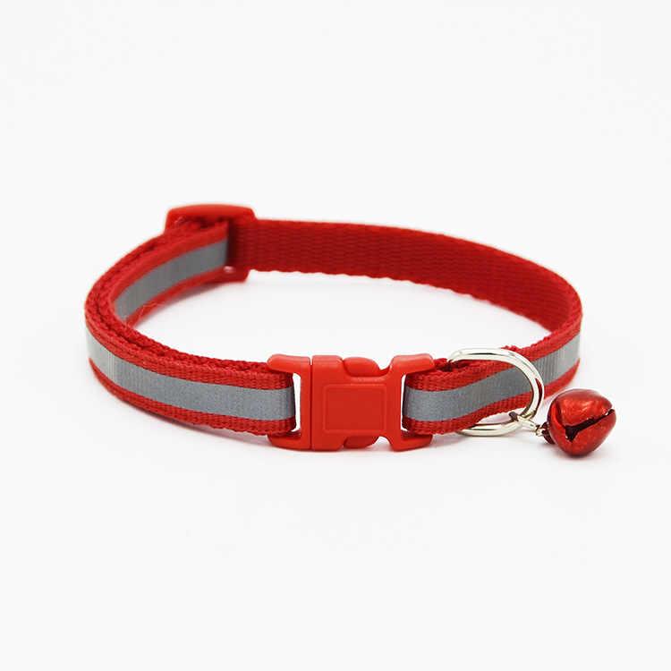 Collier de chat pour animaux de compagnie produits pour petit chiot colliers de chien de compagnie cloche réglable boucle laisse chien-collier harnais Chihuahua