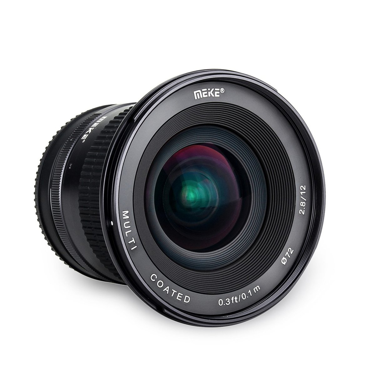 DHL Meike 12mm f/2.8 Ultra Wide Angle Fixed Lens with Removeable Hood for Sony Mirrorless E Mount Camera A7 A7S A7RIIA6000 A6300