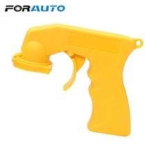 FORAUTO Автомобильный Спрей-адаптер для краски пистолет Авто обслуживание Блокировка воротник уход за автомобилем ручка с полной рукояткой триггер портативный