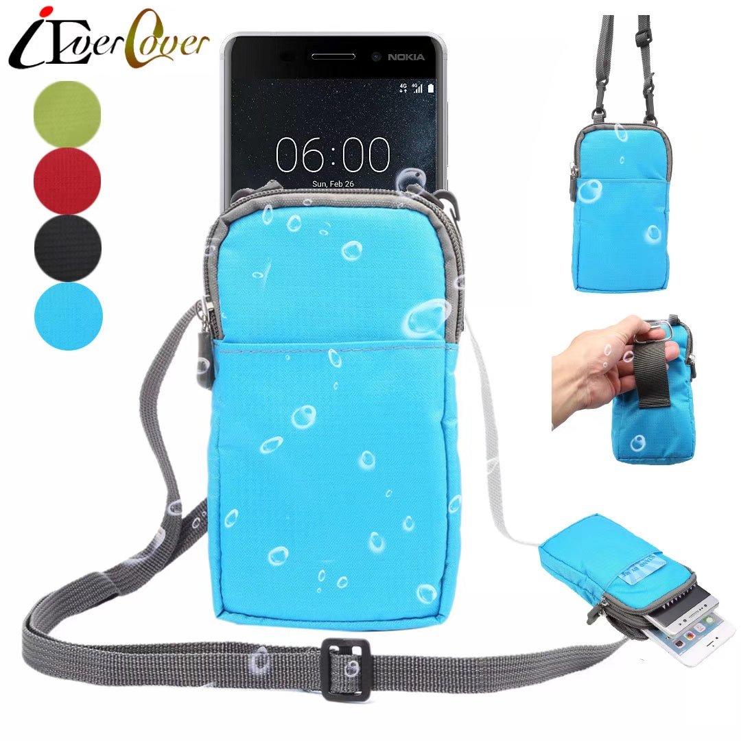 Wasserdichte Nylontasche Fall Fr Nokia 7 Plus 8 Sirocco 6 5 3 130 Kamera New 105 3310 2018 Telefon Crossbody Brieftasche Tasche Abdeckung Capa In