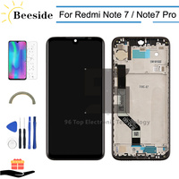 10 point Touch AA+ Quality LCD + Frame For Xiaomi Redmi Note 7 / Note7 Pro LCD Display Touch Screen Digitizer Assembly Replace