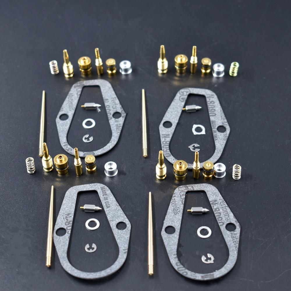 One NEW Honda CB500 F Four Carb Rebuild Kit CB500F CB 500 CB-500 Gasket Jet