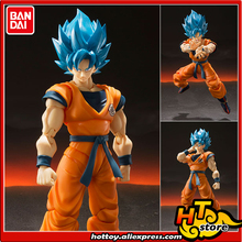"BANDAI SPIRITS Tamashii Nations S.H.Figuarts (SHF) Action Figure   Super Saiyan God SS Son Goku from ""Dragon Ball Super Broly"""