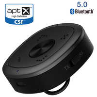 APTX HD Bluetooth 5.0 émetteur récepteur CSR8675 sans fil adaptateur Audio 3.5mm sans perte faible retard pour PC TV casque D2-001