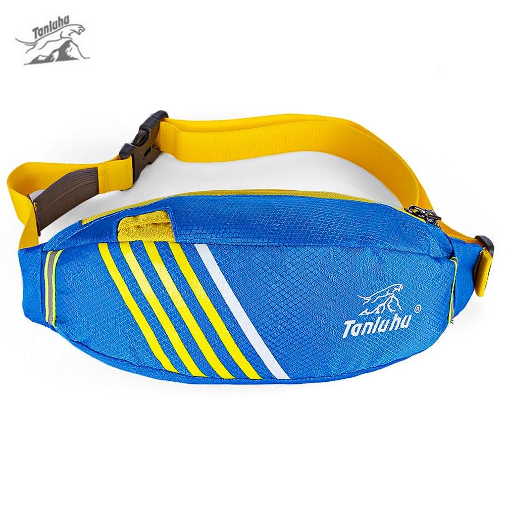 bf7423f36823 TANLUHU Водонепроницаемый Бег поясная сумка для Для женщин Для мужчин  спортивные Фанни поясная сумка для мобильного