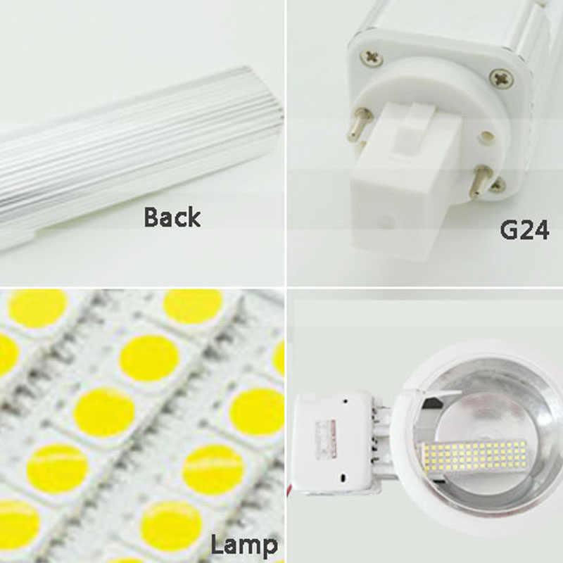 G24 led הנורה g24d3-1 g24d-1 led g24d-2 led מנורת Bombillas 5 W 7 W 9 W 12 W 15 W SMD5050 g24d-3 g24 2 פין AC85-265V 110 V 220 V