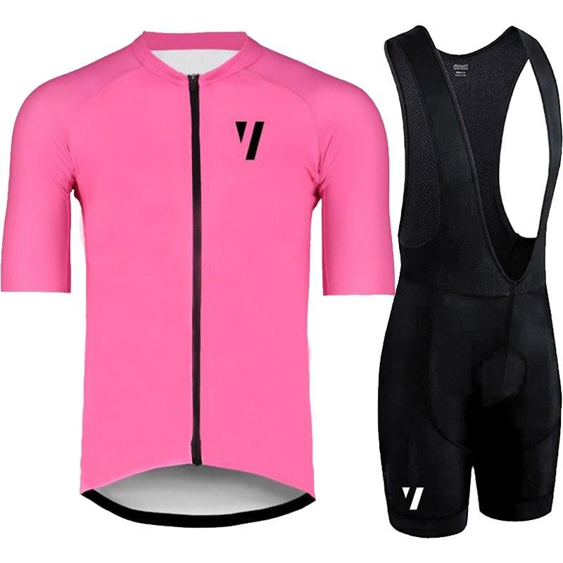 Conjunto Completo ciclismo estivo 2018 cycling jersey manga curta calças jardineiras fietskleding wielrennen heren zomer definir maillot ciclismo