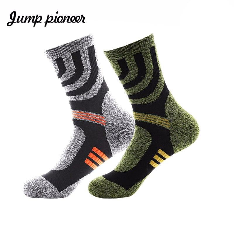 Jump Pioneer High Quality Whole Towel Terry Men's Socks Thicken Socks Fashion Coolmax Socks Men Calcetines