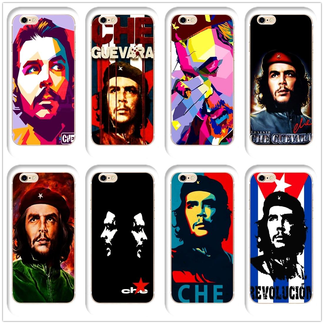 DK Ernesto CHE Guevara Cuban hero fashion phone Case Cover for Hard Transparen for iPhone 6 6s 7 8plus 5s 5c 4s X XS XR XSMAX