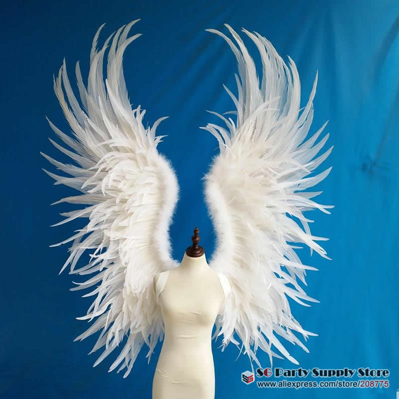 Costumed beautiful white red cartoon feather angel wings for Fashion ...