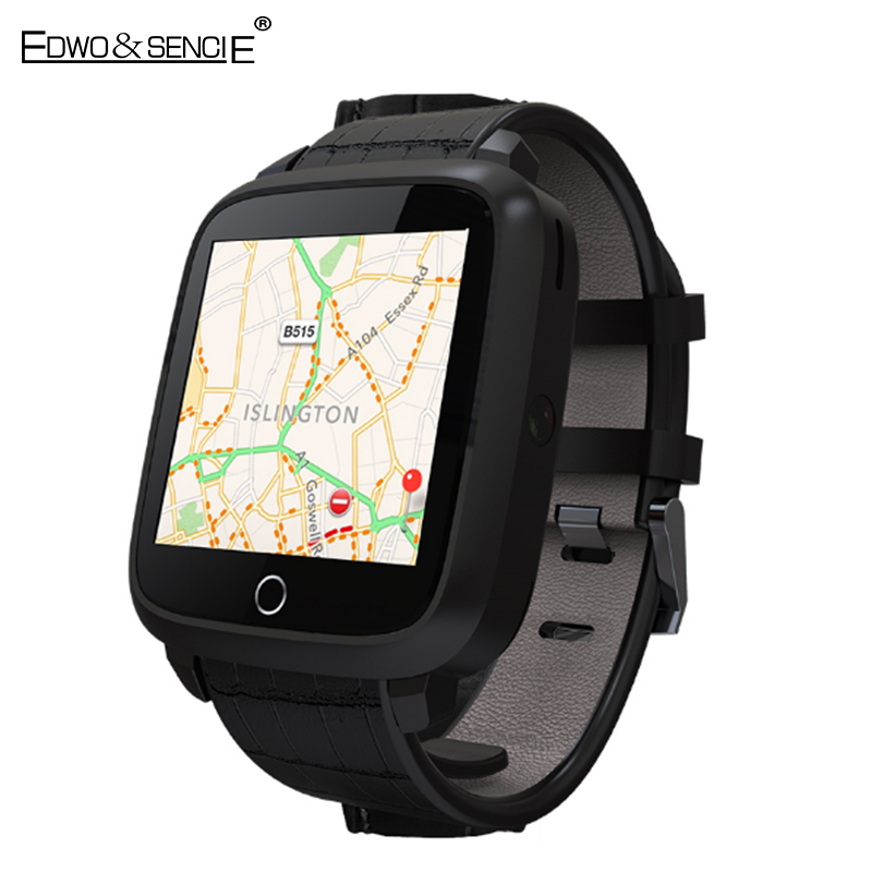 HOT EDWO U11S Smart Watch Phone MTK6580 Quad Core Android 5.1 RAM 1GB ROM 8GB 3G WIFI GPS SIM Card Heart Rate Smartwatch Clock no 1 d6 1 63 inch 3g smartwatch phone android 5 1 mtk6580 quad core 1 3ghz 1gb ram gps wifi bluetooth 4 0 heart rate monitoring