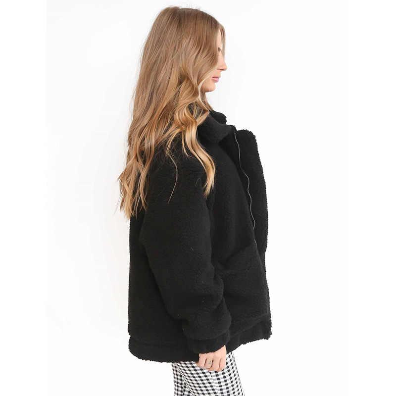 Женское зимнее пальто с длинным рукавом, Свободный вязаный джемпер, кардиган, верхняя одежда, пальто, Новая модная женская одежда