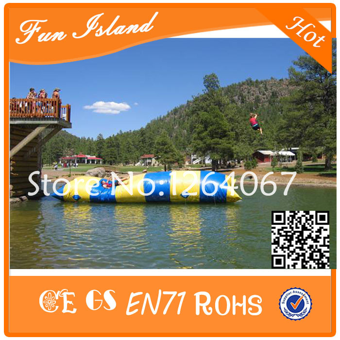 Free Shipping 12x3m Inflatable Water Blob,Water Jump , Water Catapult Blob ,Water Pillow For Sale