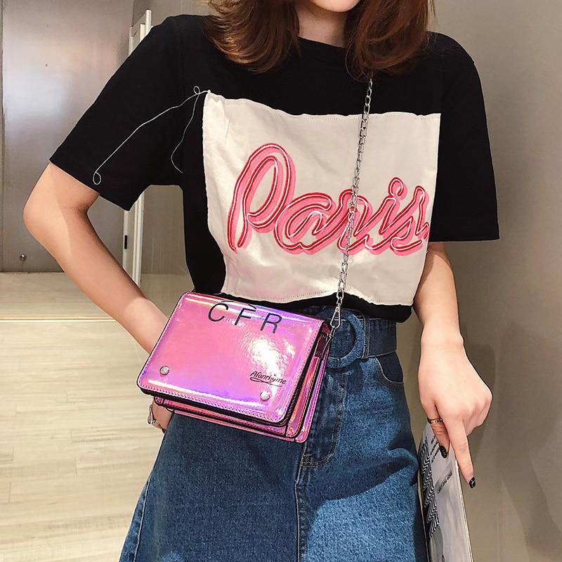 Le Tracolla Principale Marca Femme Per Di Progettista Con 2019 Del Da Borsa Black Borse Sac silver pink Donne Famose Donna wYqx5z5C