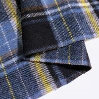 Limited Haute couture Classic plaid wool fabric for coat telas por metros tissu au metre tecido tissus tecidos shabby chic DIY
