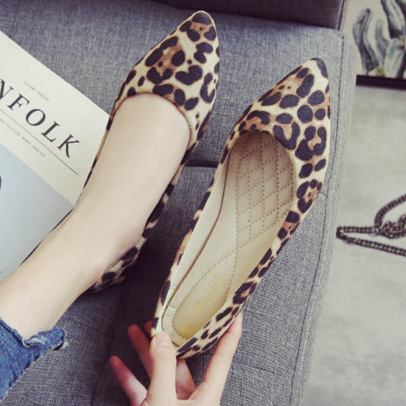 Simple Pointed Toe Casual Shoes