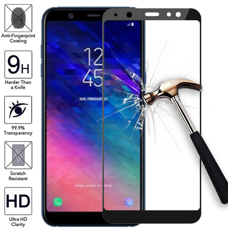 Protective Film Glass For Samsung <font><b>Galaxy</b></font> M10 M20 A30 A50 <font><b>A5</b></font> 2017 A3 2016 A6 Plus A9 A7 <font><b>2018</b></font> A8 <font><b>Screen</b></font> Protector Tempered Glass image