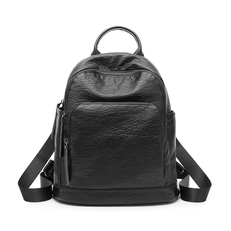 Fashion Leisure Women Backpacks Womens PU Leather Backpacks Female school Shoulder bags  ...