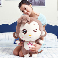 Fancytrader Funny Stuffed Soft Plush Lovely Giant Cartoon Monkey Toy 60cm 24inch 3 Colors