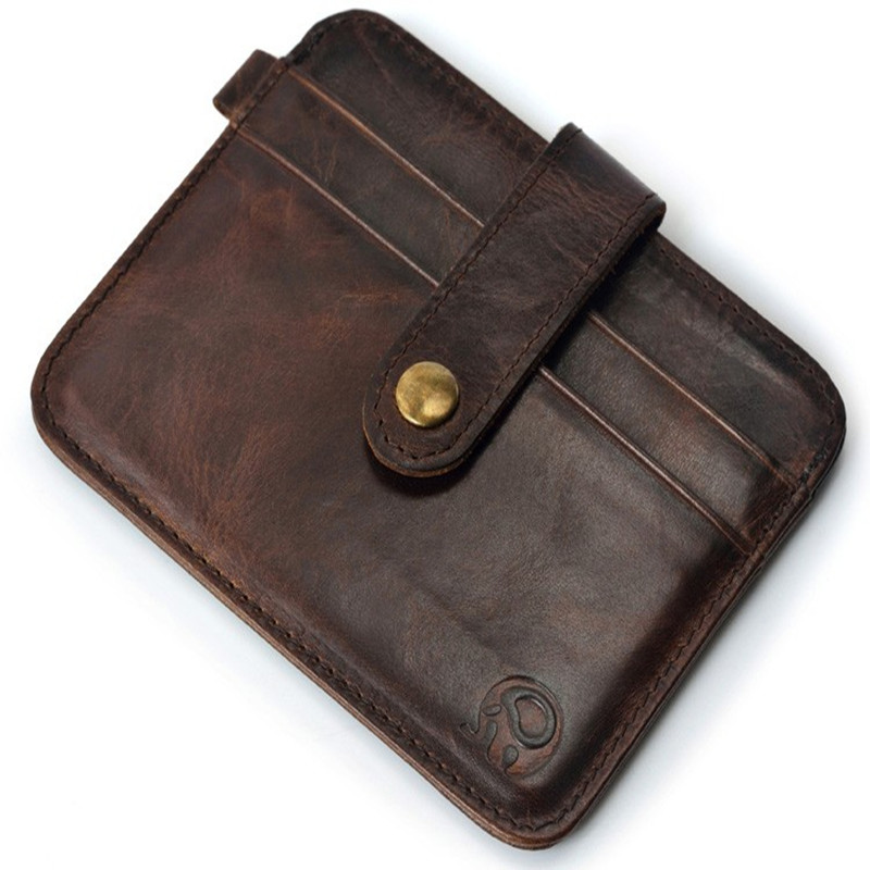 100%genuineFamous Brand Luxury Slim Wallet Men Purse Male clamp Money Clip walet portfolio cuzdan thin perse Portomonee carteras