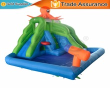 YARD Summer Cool Inflatable Toys Water Slide Swimming Pool Bounce House Kids Jumping Castle