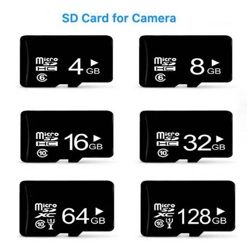 C10 8/16/32/64Gb Micro sd card for 720P 960P 1080P Wifi IP cameras