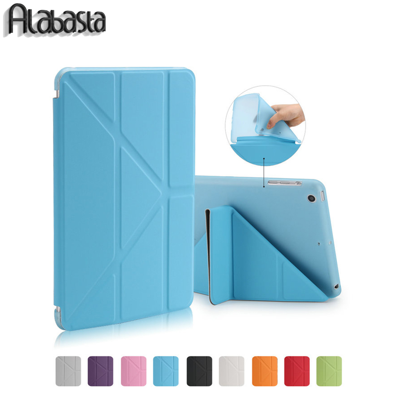 Alabasta For Ipad MINI 2 3 Retina smart case PU Leather flip stand For Apple iPad Mini 4 ipad 2345 soft back cover Sleep Wake Up eu stock ultra slim magnetic smart flip stand pu leather cover case for apple ipad mini 1 2 3 retina intellectual dormancy