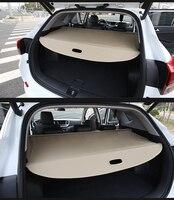 Aluminium alloy + Fabric Car Rear Trunk Cargo Cover Security Shield Screen shade Car accessories For KIA Niro 2017 2018 2019