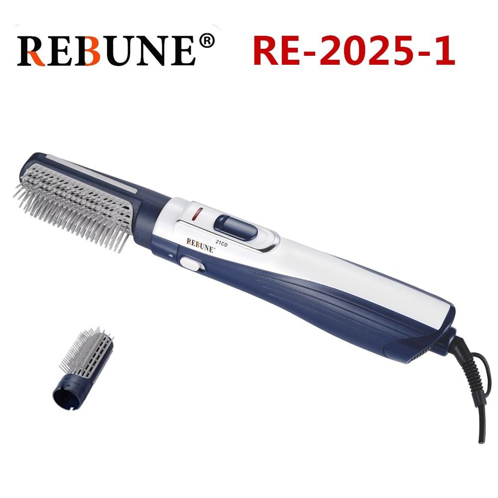 REBUNE RE-2025 Hair Styler New Styling Tools Powerful Multifunctional Hair Dryer Hair Brush Roller Styler 220V