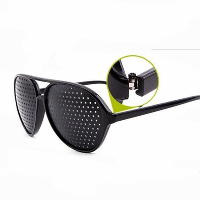 c45e83e739d Glasses frame Black Anti Fatigue Hallow Sunglasses Small Hole Anti Myopia  Eyewear High Quality Plastic Dropshipping