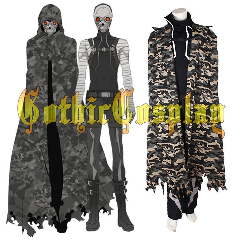 Anime Gun Gale Online Death Gun Cosplay Costume Halloween Uniform S-XL Custom-made Free Shipping NEW