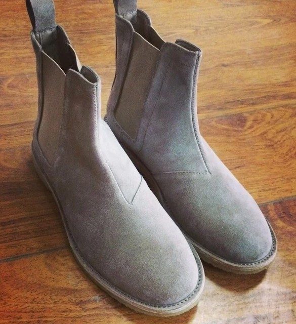 36f5f505460 2017 high quality vintage best chelsea boots kanye west boots real ...