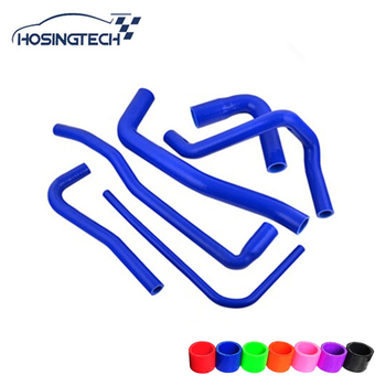 HOSINGTECH- for SAAB 9000 AERO B234 For SAAB 900/9-3 2.0L 2.3L B204 TURBO Silicone Turbo Hose Kit