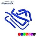 HOSINGTECH- for saab 9000 2.0T silicone radiator hose kits,6pcs color blue