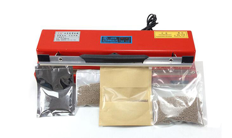 400mm Hand-held Plastic bag/Foil bag sealing machine Manual Sealer 0.2~1.5s 220V fkr 400 manual plastic bag sealer