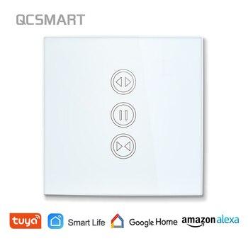 Tuya Smart Leven WiFi Gordijn Schakelaar voor Elektrische Gemotoriseerde Gordijn Blind Rolluik, Google Thuis, amazon Alexa Voice Control