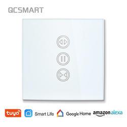 Туя Smart Life шторка с WIFI переключатель для Электрический моторизованный занавес слепой рольставни, Google дома, Amazon Alexa голос управление