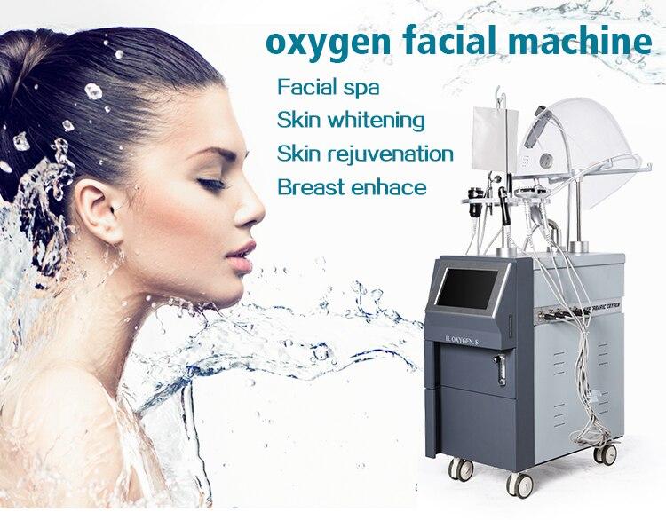 Meilleure vente machine de salon de beauté du visage jet d'oxygène 2019