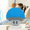 Cogumelo mini speaker sem fio bluetooth mãos livres copo otário subwoofer usb áudio do receptor de música estéreo para android ios pc