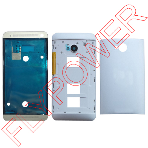 For HTC ONE M7 Dual Sim 802t 802D 802W Front + Back ...