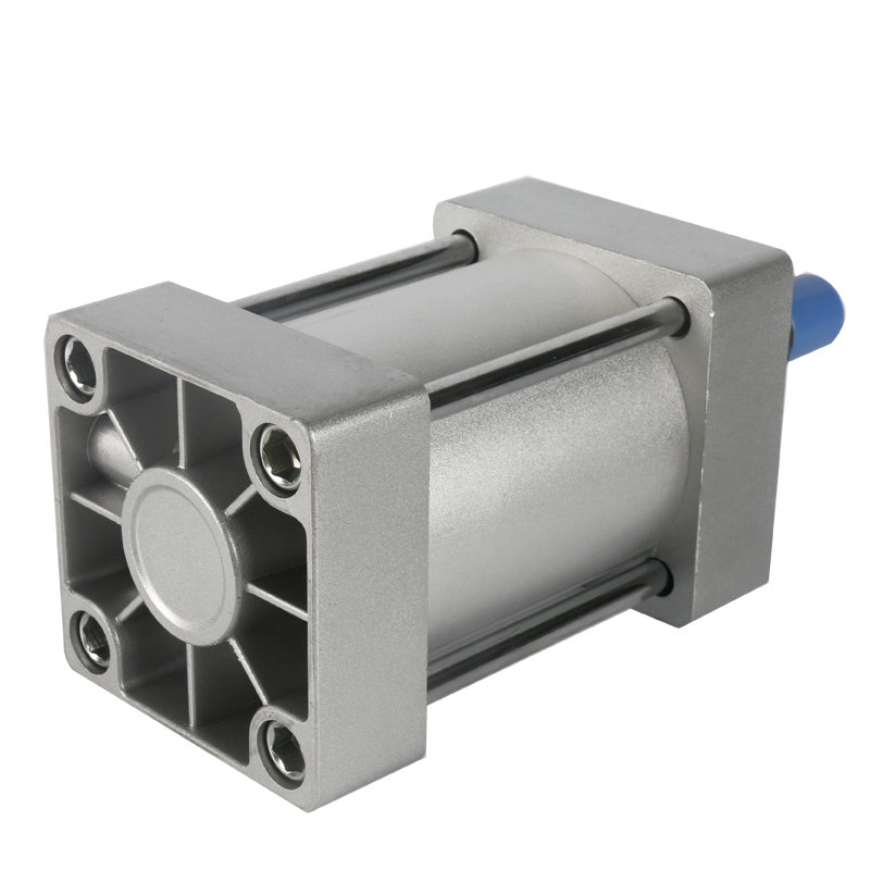 SC80*100 / 80mm Bore 100mm Stroke Compact Double Acting Pneumatic Air Cylinder tn25 80 25mm bore 80mm stroke compact double acting pneumatic air cylinder